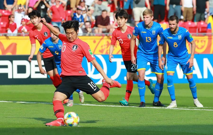 [현장 REVIEW] '졌지만 잘 싸웠다' 한국, 우크라이나에 1-3 역전패…아쉬운 준우승 마감 (영상)