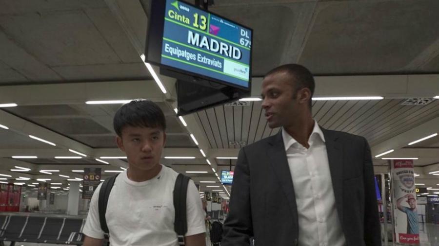 구보 마요르카 공항 도착, 공식 발표 임박