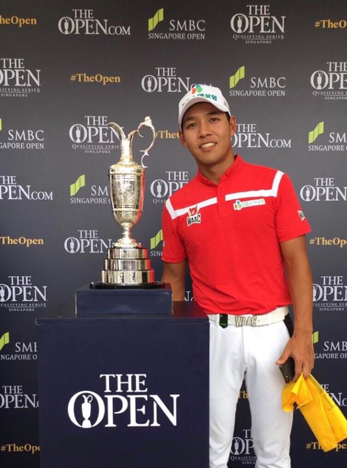 문도엽, 2019 디오픈 골프 출전권 획득... 싱가포르 오픈서 공동5위