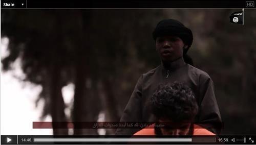 IS, 어린이가 인질 참수하는 영상 공개