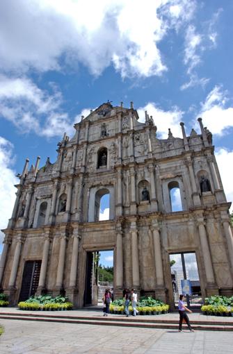 웹투어, 마카오 여행사진 무료강좌