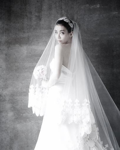 탤런트 박선영, 행복한 웨딩 사진 공개