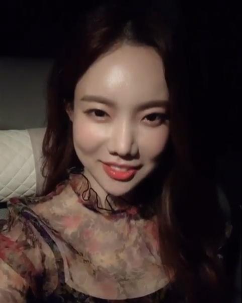 김나희, 시스루 드레스로 뽐낸 섹시美…'물오른 미모'