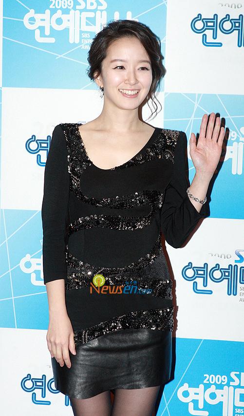 박선영 아나, SBS '연예대상' 아나운서상 수상