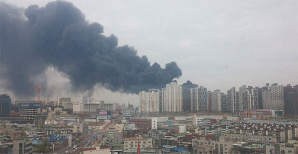 인천 가좌동 화재