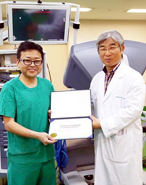 해외 의료진, 서울아산병원에 로봇수술 교육 급증