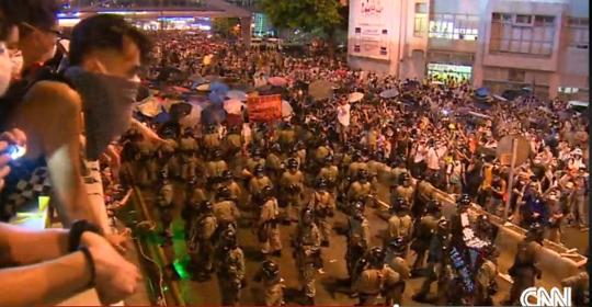 홍콩 민주화 시위 지지 움직임 전세계로 확산