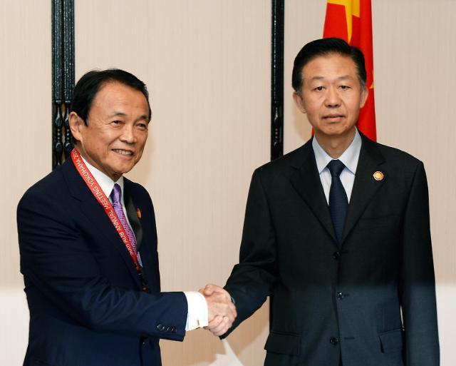 중국-일본 2년만에 '재무대화',