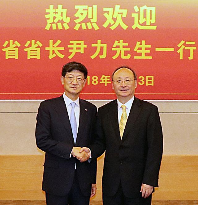 박근태 CJ대한통운 대표, 中 쓰촨성 협력 확대 약속