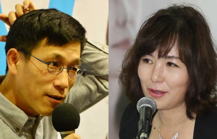 """진중권·공지영 '와글와글'…진중권 사직 소식에 공지영, """"정의 없어"""""""
