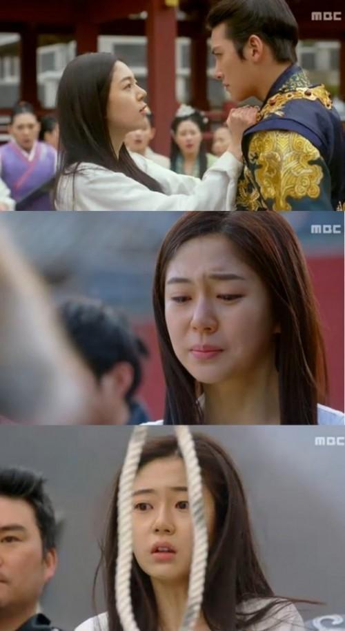 백진희 '기황후' 하차, 지창욱 멱살 잡으며 분노 '교형으로 최후'