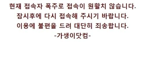 한국VS이라크 2-0 승리, '가생이닷컴' 접속자 폭주 '인기폭발'