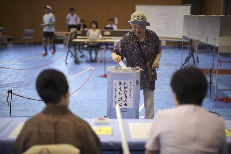 일본 참의원 선거 시작…개헌 의석 3분의 2 확보가 관건