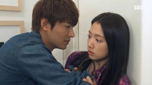 상속자들 시청률 10.5%… 이민호-박신혜 본격적 로맨스 시작