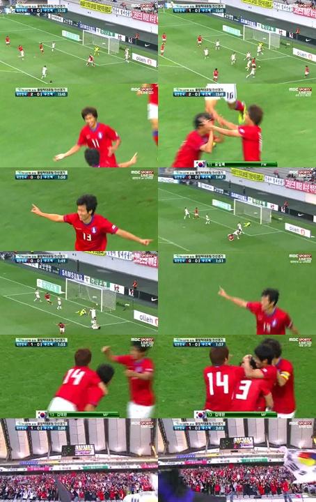 대한민국-우즈베키스탄, 전반 3-0 종료… '김태환-윤일록-박종우'의 득점