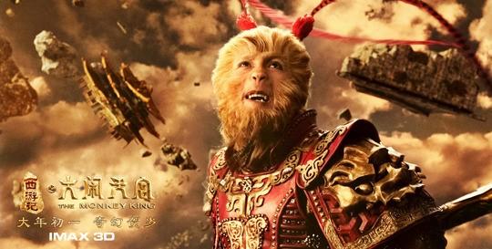 '몽키킹 3D', 中 개봉당일 역대최고 기록 '아이언 맨 3'뛰어넘어