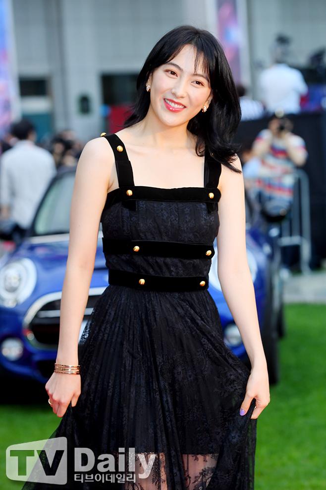 [TD포토] 강지영 '카라에서 영화배우로 인사드려요'