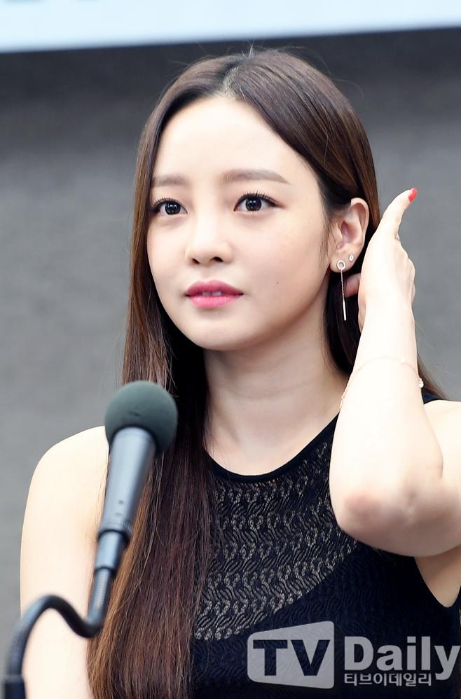 [TD포토] 구하라 '시선 뗄 수없는 미모'
