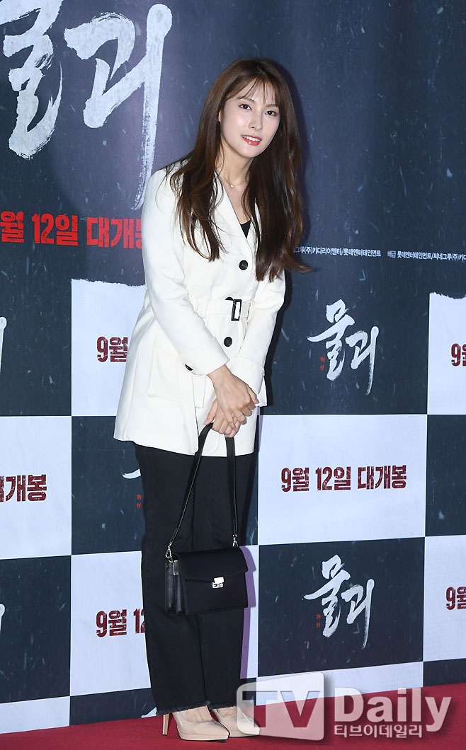 [TD포토] 박규리 '여신의 패션'