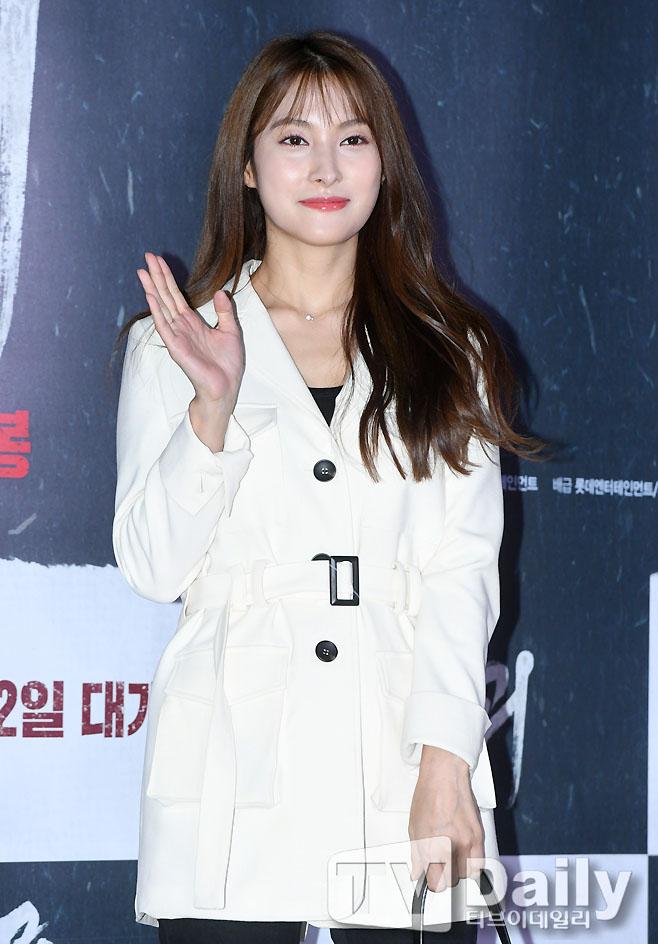 [TD포토] 박규리 '뚜렷한 이목구비'