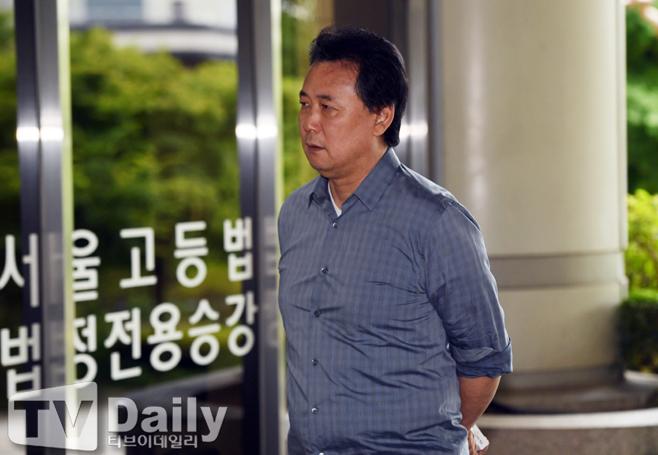 [TD포토] 김창환 '법정으로...'