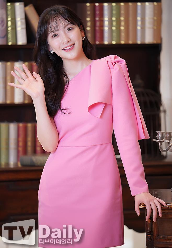 [TD포토] 강지영 '사랑스러운 핑크 공주'