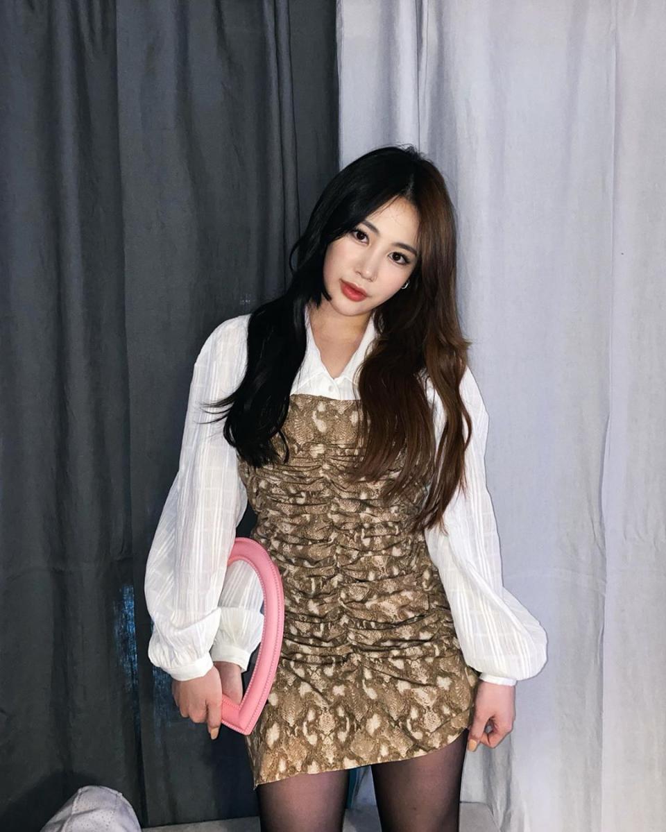 'I use Brandi' 박지민, 인스타그램을 통해 근황 공개