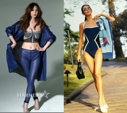 모델 박영선 화보, 나이를 거꾸로 먹는 듯한 육감적 몸매와 동안 미모 과시 '대박!'