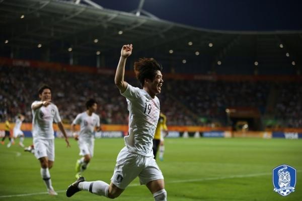 한국, 에콰도르에 1-0 승리 결승 진출...16일 결승