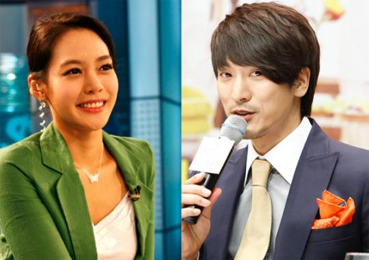 김민준-SBS 안현모 기자 1년째 교제중