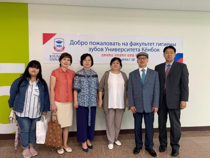 우즈베키스탄 누쿠스 한국방문단 경복대 치위생과 방문