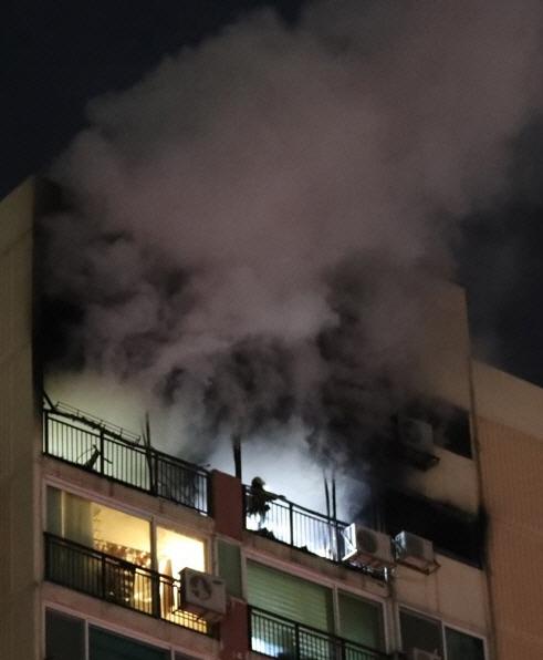 서울 은평구 아파트에서도 화재…대한민국 건조주의보