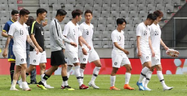 [한국 볼리비아] 자신감 충전 실패...0-0 무승부