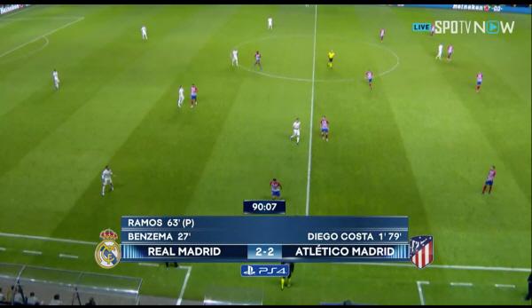 [UEFA 슈퍼컵] 레알 마드리드-at마드리드 2-2 연장전 돌입, 승자는 누가 될까