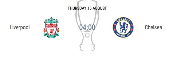 리버풀-첼시 UEFA 슈퍼컵, 15일 생중계는 몇시 어디서?