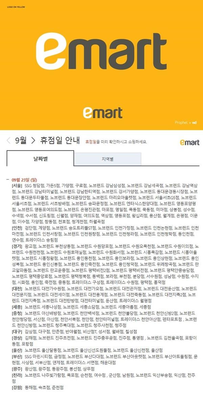이마트·롯데마트·홈플러스 휴무일, 추석 전날 휴무는 처음…250만명 발 동동