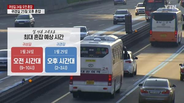 설날 고속도로 통행료 면제, 언제까지?