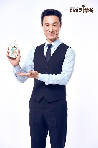 천호엔케어, '아이키쑤욱' 모델로 배우 김병철 발탁