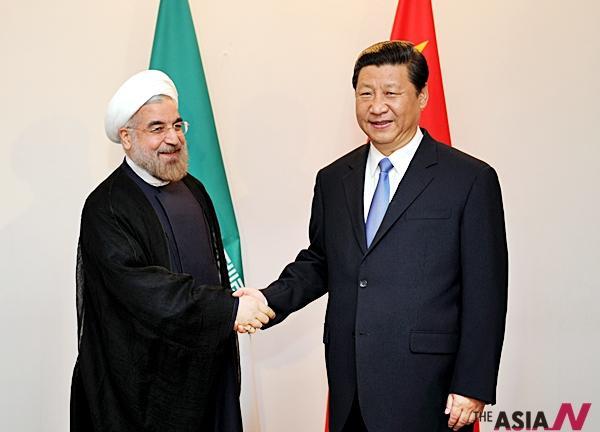 미사일 발사 도마 오른 이란, 중국과 군사협력 강화