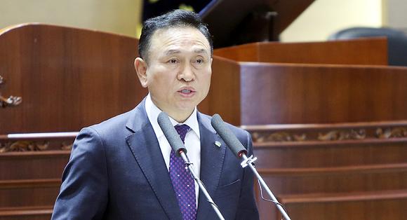 """구본영 천안시장 """"100만 도시 인프라 구축"""""""