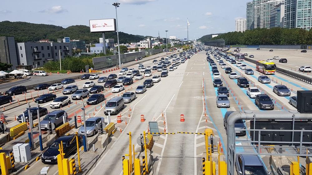 추석 연휴 고속도로 통행료, 23∼25일 사흘간 면제