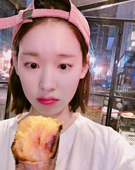 박환희, 고구마만큼 작은 얼굴 '눈길'... 네티즌들