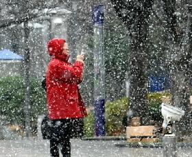 날씨예보 내일 추위 주춤 수능한파…오늘 첫눈 못봤다면 밤에