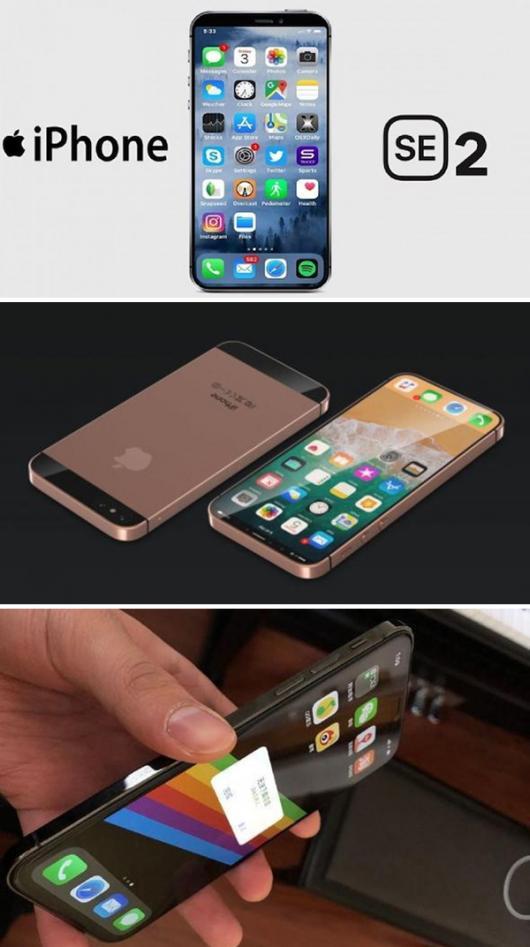 아이폰SE2, iPhone X보다 두껍다?…해외매체 아이폰SE2 디자인 공개
