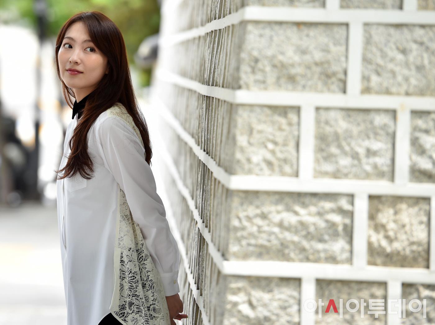 [포토] 강지영, 야식남녀 인터뷰