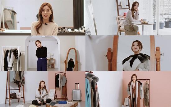 LBL, 핫한 모델 '이채은'과 F/W 패션 필름 공개