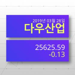 [27일(현지시간) 뉴욕증시] 미증권시세다우지수 -0.13% ▼ '하락마감' 전망