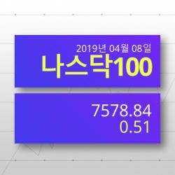 [5일(현지시간) 미장외주식나스닥지수 전망] 나스닥100 상승세 7578.84p