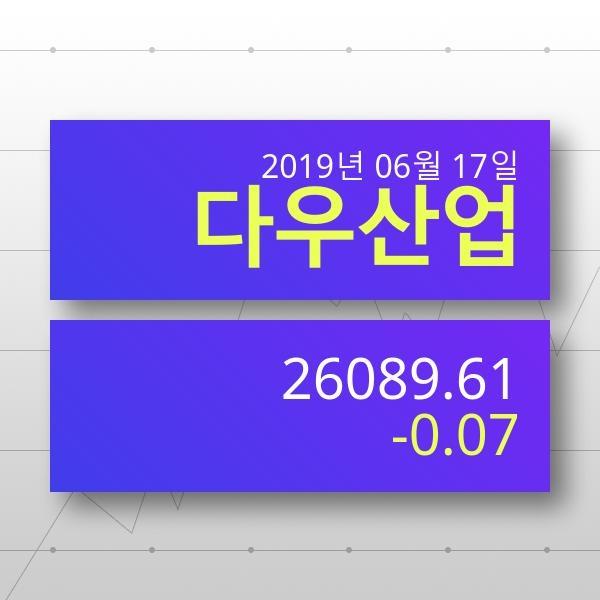 [14일(현지시간) 뉴욕증시] 증권시세다우지수 -0.07% ▼ '하락마감' 전망