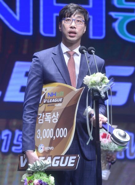 김세진 감독, OK저축은행과 4년 더 함께 한다